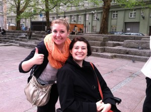 Alexa and Me in Munich, Germany