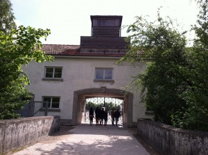 Entrance to the camp