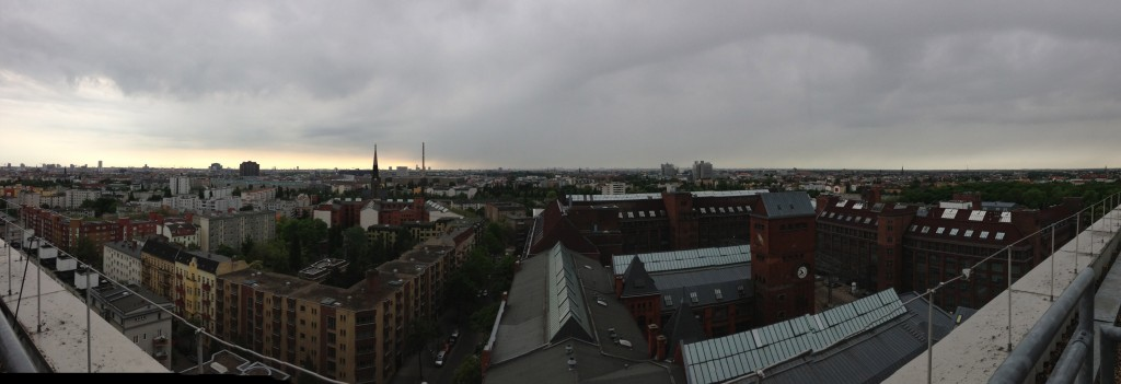 A view of Berlin.