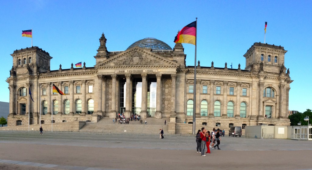 The Reichstag serves as an icon of rebirth to the people of Germany.