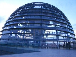 The dome at the Reichstag